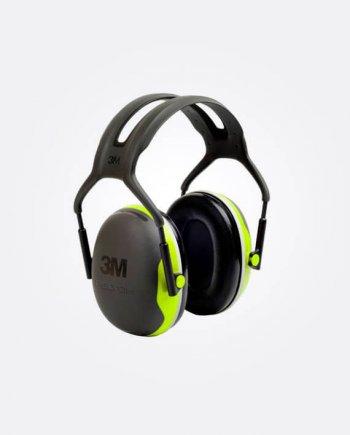 Casque anti bruit 3M. Très confortable et extrêmement léger. Protection pour environnement très bruyant. Poids : 234 gr Atténuation : 33 dB