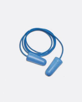 Bouchon d'oreille détectable bleu