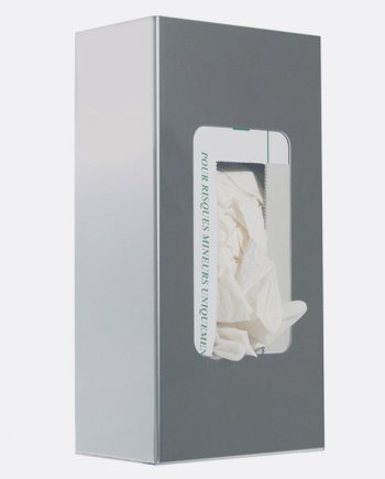 distributeur inox gant jetable