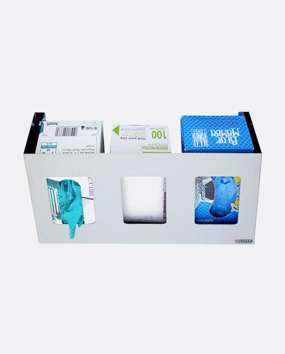 distributeur inox gant