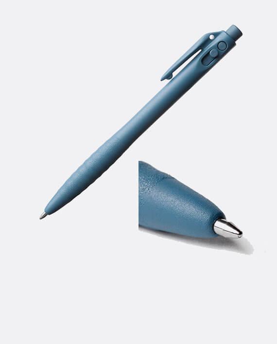 Stylo détectable encre bleue