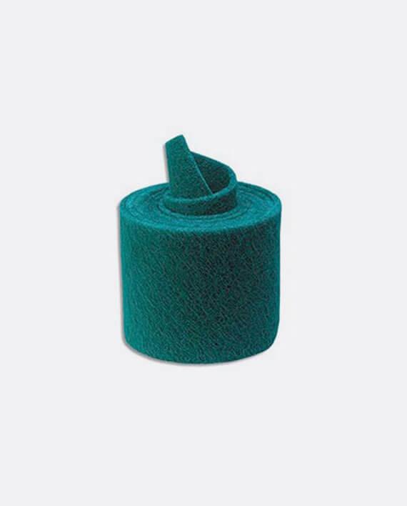 Tampon vert en rouleau