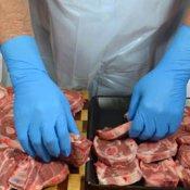 gant de protection viande