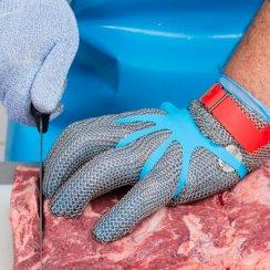Gant decoupe viande et gant usage unique